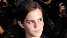 Emma Watson's McQueen tartan tutu: cute or Bieber-esque fug?