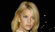Is Jessica Simpson down in the dumps