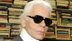 """Lagerfeld on the royals: """"Bad proportions, ugly hats, short skirts on fat legs"""""""
