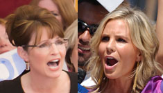 Elisabeth Hasselbeck is campaigning with Sarah Palin this weekend