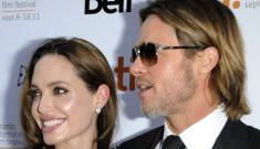 Angelina Jolie in Vivienne Westwood, in Toronto: lovely or boring?