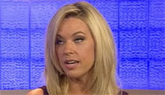"Kate Gosselin ""to be a good parent is to work hard & give them the best opportunities"""