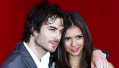 Nina Dobrev and Ian Somerhalder gush about each other, is a proposal coming?