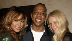 Beyonce and Gwyneth Paltrow hang out, shop, get wasted