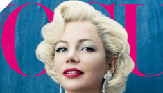 Michelle Williams does Marilyn Monroe drag in   Vogue: tragic or interesting?