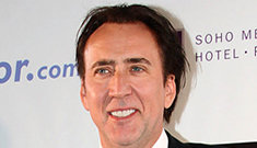 Nicolas Cage's home was invaded by a naked dude with a Fudgsicle