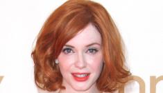 Christina Hendricks in Johanna Johnson: flattering, pretty or too much?