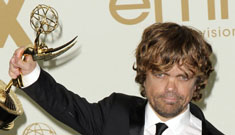 Peter Dinklage wins for Game of Thrones, where are the rest of the hot guys from GOT?