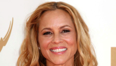 Maria Bello in Kaufmanfranco: one of the best-dressed of the night?