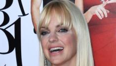 Anna Faris looks Botoxy, odd in white: cute or tragic?