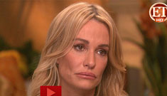 Taylor Armstrong shows her CAT scans, tells her story of abuse on ET