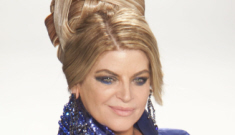 Kirstie Alley's delusional numbers game: she's now   130 pounds?