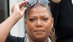 Did Queen Latifah dump her girlfriend of 8 years for some jumpoff?
