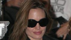 Angelina Jolie took Shiloh & Zahara to get their ears   pierced, Zahara cried