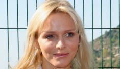 Princess Charlene goes solo with new bangs: depressed, terrible & sad?