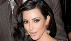 "Kim Kardashian admits she and her sisters are ""tr-nies"" (about makeup)"