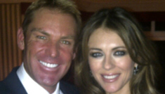 Liz Hurley & Shane Warne are engaged, he proposed on Friday