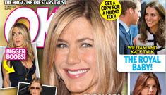 Ok Magazine again claims Jennifer Aniston is pregnant