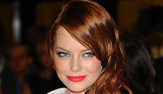 Emma Stone in polka-dotted Luca Luca: terrible or adorable?