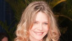 "Michelle Pfeiffer on the botox & plastic surgery epidemic:  ""It's kind of sad"""