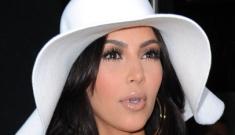 Kim Kardashian's 1970s-inspired all-white ensemble: tragic or cute?