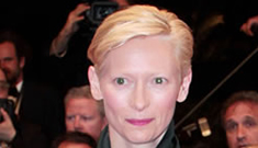 """Tilda Swinton: All moms worry """"they're going to give birth to the devil"""""""
