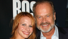 Kelsey Grammer's wife Kayte shows off her makeover: cute or budget?