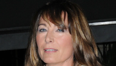 Carole Middleton makes a rare appearance in Catherine Walker: great genes?