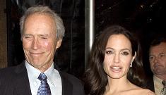 Angelina Jolie suprises Clint Eastwood at awards gala