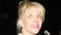 Courtney Love thinks she'll marry a titled nobleman & become Lady Love