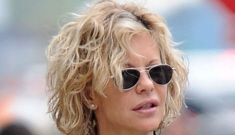 Is John Mellencamp encouraging Meg Ryan to go with her natural face?