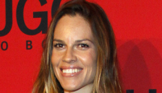 "Hilary Swank ""deeply regrets"" attending Chechen leader's birthday party"