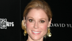 Julie Bowen's neon pillowcase dress: unflattering or cute (on someone else)?
