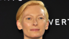 Tilda Swinton attends Milan event with her 18-years-younger lover