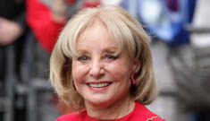 Barbara Walters' new face: improvement or stop with the chipmunk cheeks?