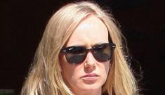 "Kimberly Stewart debuts baby Delilah, claims Benicio del Toro is ""involved"""