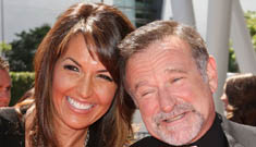 Robin Williams got married again and not to his jumpoff this time