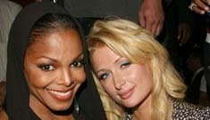Paris Hilton pissed off Janet Jackson by singing at her birthday party