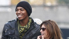 Elisabetta Canalis is papped in Berlin with Mehcad Brooks: give us a break?