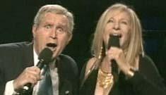 Barbra Streisand enraged that her dumb Bush skit tanked (update)