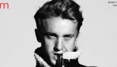 When did Tom Felton turn into a little mini-Ralph Fiennes?