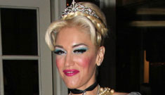 Gwen Stefani's Cinderella Halloween costume: adorable or drag queen pageant?