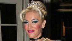 Gwen Stefani's Cinderella Halloween costume: adorable or drag queen pageant?