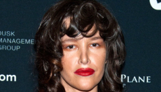 "Paz de la Huerta's Halloween ""costume"": frightening or pretty much the same?"