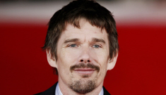 Ethan Hawke in Rome: still bone-worthy or not hot at all?