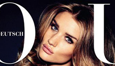 """Rosie Huntington-Whiteley has """"offers on the table,"""" is waiting """"for the right script"""""""
