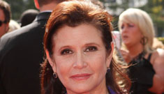 Carrie Fisher talks ECT therapy, Ann Curry doesn't  get her humor