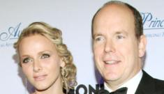 "Princess Charlene wears Dior, offers non-denials of ""runaway bride"" stories"