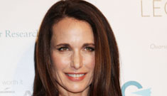 Andie MacDowell and the other L'oreal legend ladies look so Botoxy