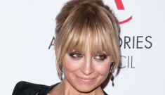Nicole Richie shows off her implants in Antonio Berardi: cute or busted?